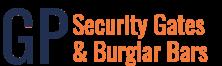 GP Security Gates and Burglar Bars logo transparent